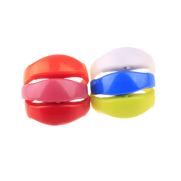 Custom LED Silicone Wristbands