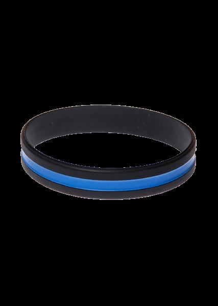 Thin Blue Line Wristband